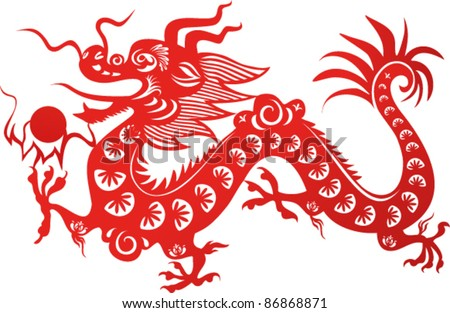 chinese dragon symbol of the