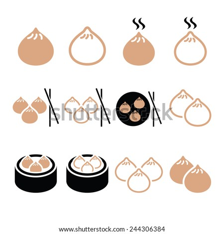 Chinese Dumpling Drawing Chinese Dumplings Asian Food