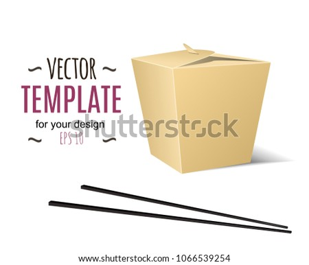 Chinese Food Boxes - Download Free Vector Art, Stock Graphics & Images