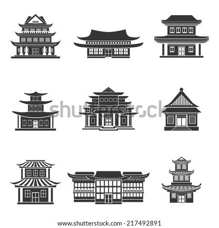 chinese house ancient temples