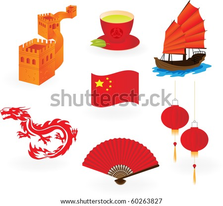 chinese  icons