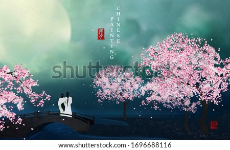 chinese ink painting art