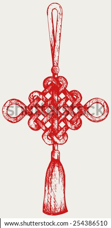 chinese knot symbol of good