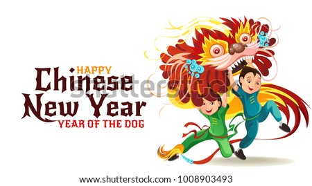 chinese lunar new year lion