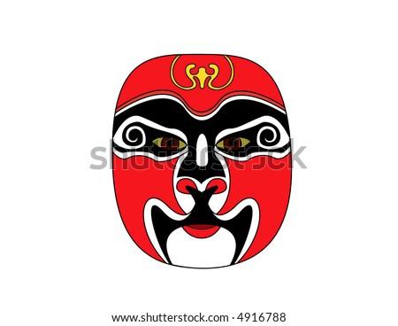 Chinese tradional opera - Beijing Opera - Facial Makeups (Beijing