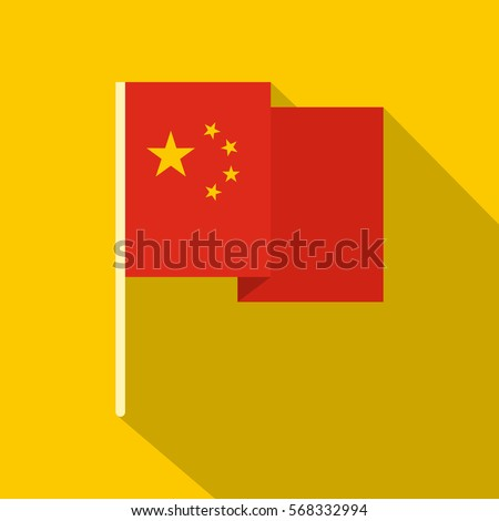 chinese national flag icon