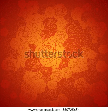 chinese new year background floral vector design