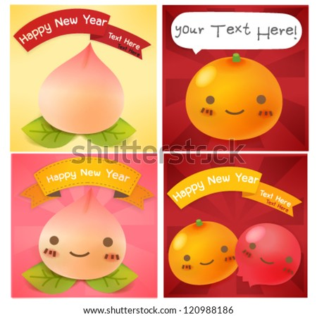 Chinese New Year Greeting card  EPS10