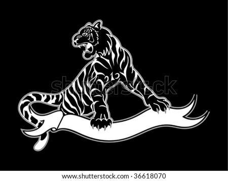 cute tiger tattoo black and white tiger tattoo