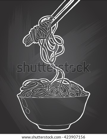 chinese noodles  asian food