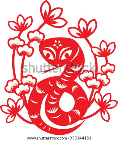 china paper cut art chinese year for rabbit spring festival happy