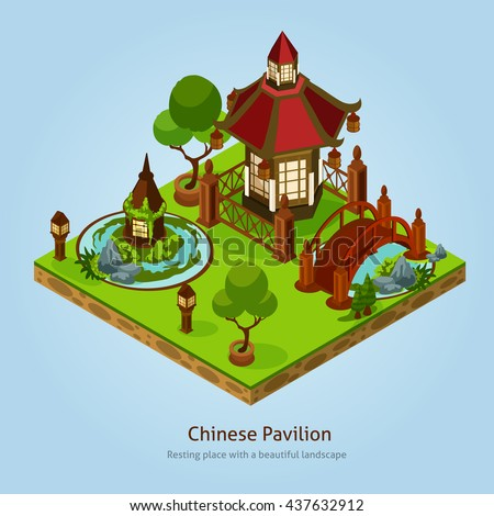 chinese pavilion resting place