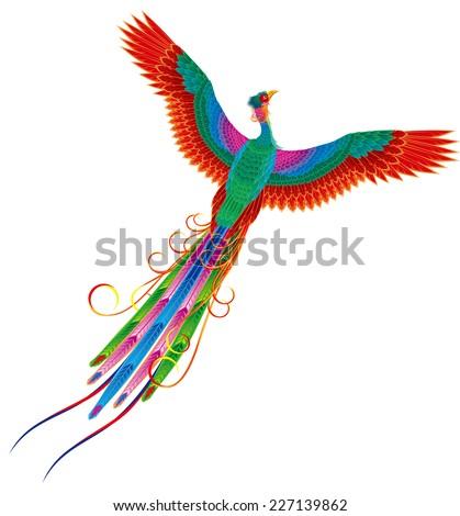 chinese phoenix legend of bird