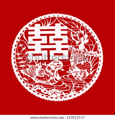 mandarin symbol for double happiness