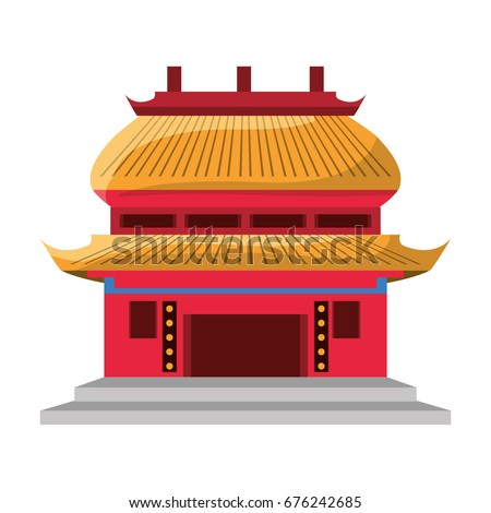 Chinese temple symbol