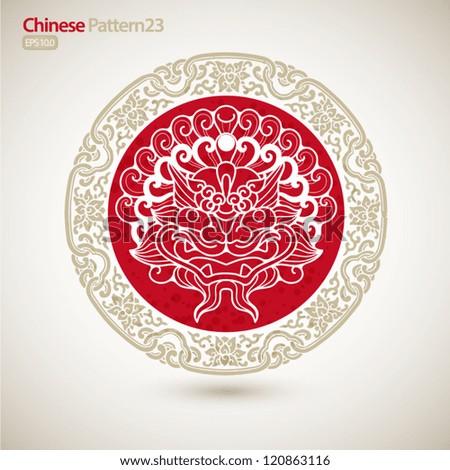 chinese vintage pattern