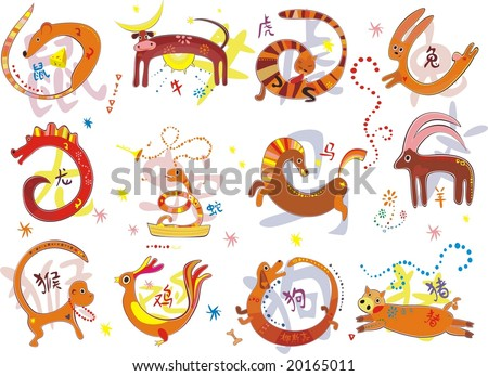 Pictures chinese zodiac signs chinese zodiac animal chinese astrology