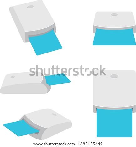 Chip card reader. USB SMART CARD READER. Сток-фото ©