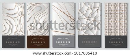 chocolate bar packaging mock up