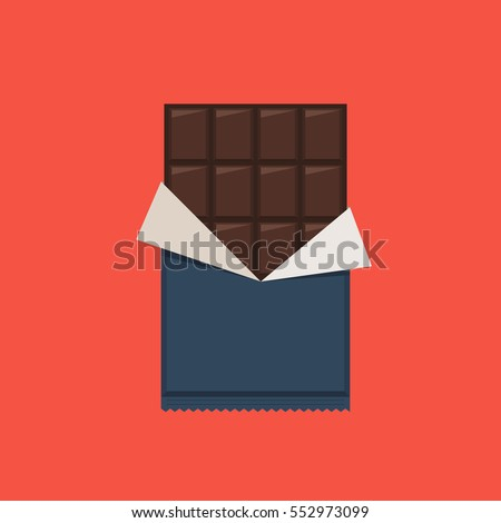 chocolate bar  polyethylene
