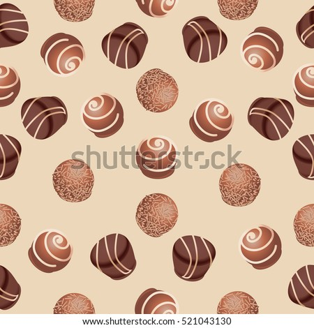 chocolate candiesseamless