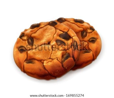 chocolate cookies  detailed