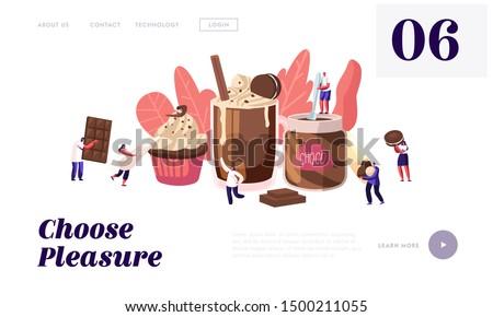 chocolate dessert production