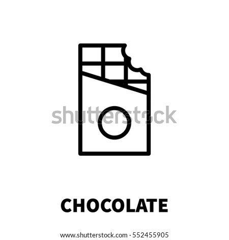chocolate icon or logo in