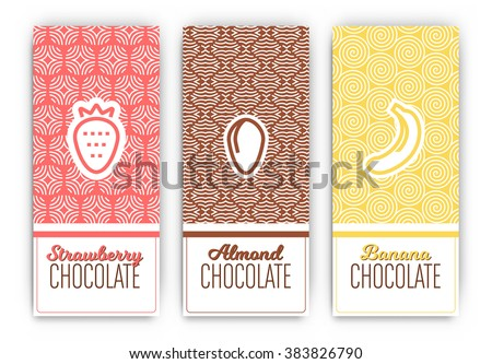 chocolate packaging set