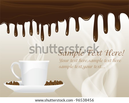 Chocolate Poster Template Set