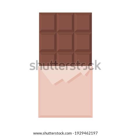 Chocolate Vector, Chocolate Bar Vector, Dark Chocolate Candy, Cocoa Beans, Vector Illustration Background