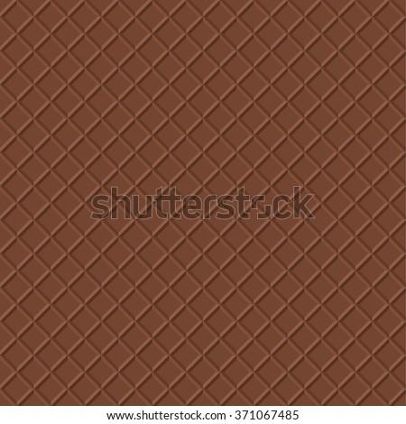 chocolate waffle vector