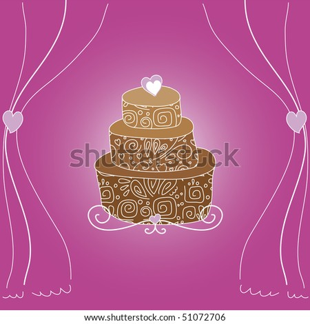 wedding cake scrapbook layouts