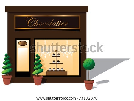 Chocolatier EPS 8 vector, grouped for easy editing. No open shapes or paths.