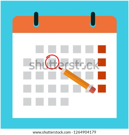 Choose a holiday in advance in the calendar , Appointment schedule in advance, Reminder agenda. Design by Inkscape.
