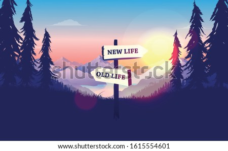 choose a life direction  new