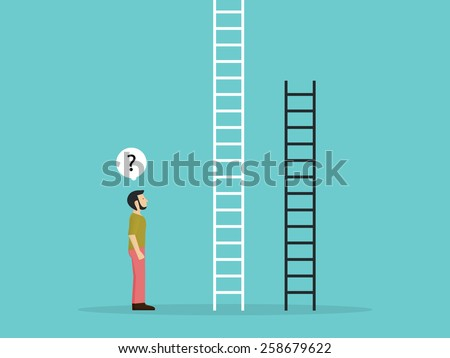 choose the fixed ladder