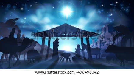 christian christmas nativity