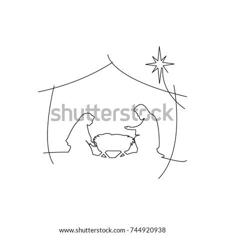 christian christmas nativity