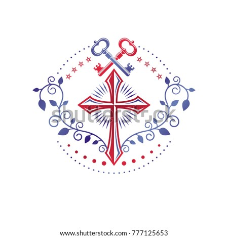 christian cross decorative...