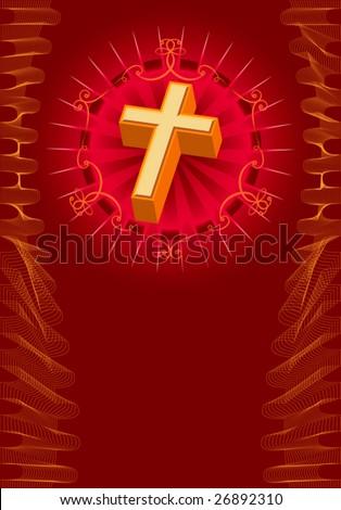 christian crosses designs. stock vector : Christian Cross