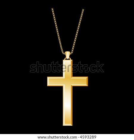 christian cross jewelry  gold