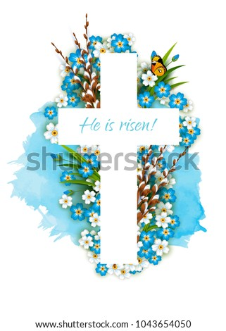 christian cross with