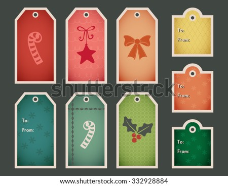 holiday gift tag vector download free vector art stock graphics