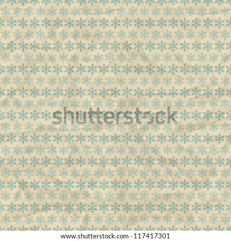 Christmas and Holidays seamless pattern with snowflakes.