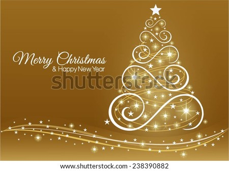 christmas and new year greeting