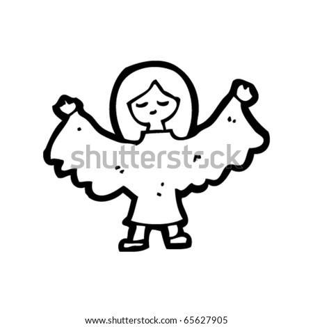 Christmas Cartoon Angels | New Calendar Template Site