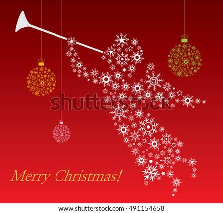 Christmas-angel - Illustration