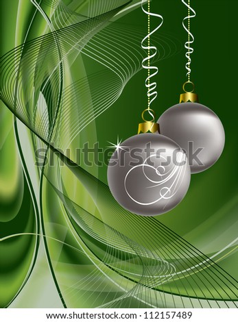 Christmas Background. Abstract Vector Illustration. Eps10. - stock vector