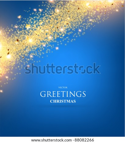 Christmas background. Christmas decoration on bright background